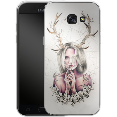 Samsung Galaxy A5 (2017) Silikon Handyhuelle - The Antlers von Kate Powell