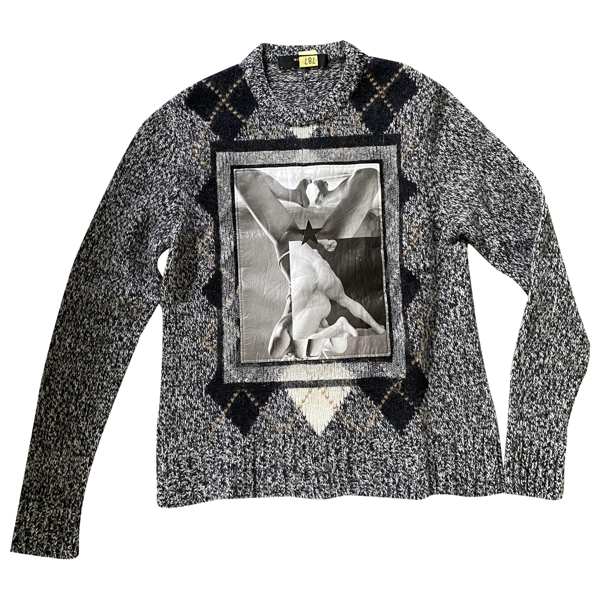 Givenchy \N Pullover in  Anthrazit Wolle