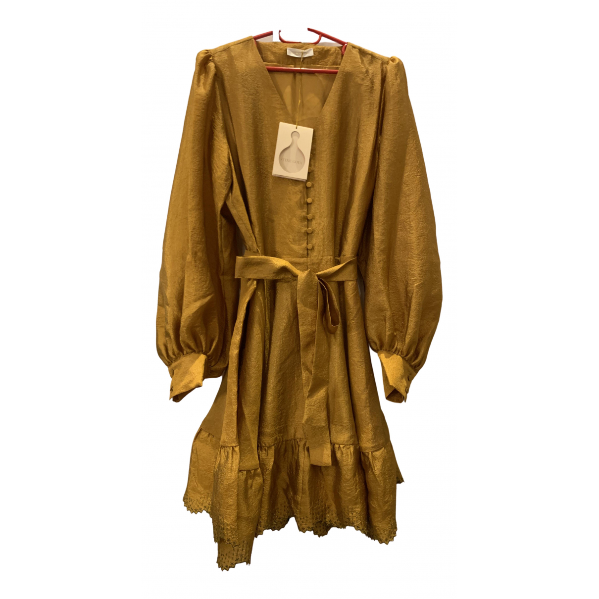 Stine Goya \N Gold dress for Women M International