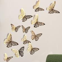12pcs 3D Butterfly Wall Sticker