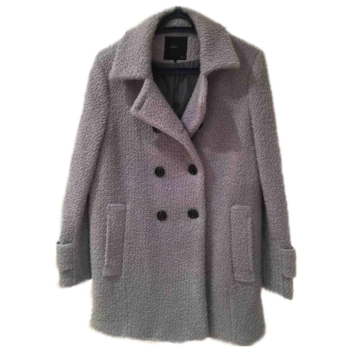 Non Signé / Unsigned \N Blue Wool jacket for Women L International