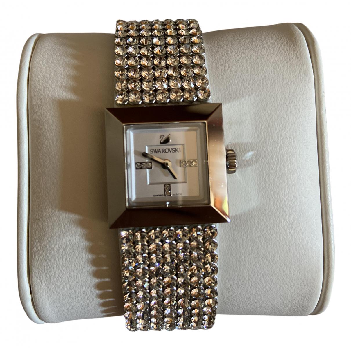 Swarovski \N Uhr in Stahl