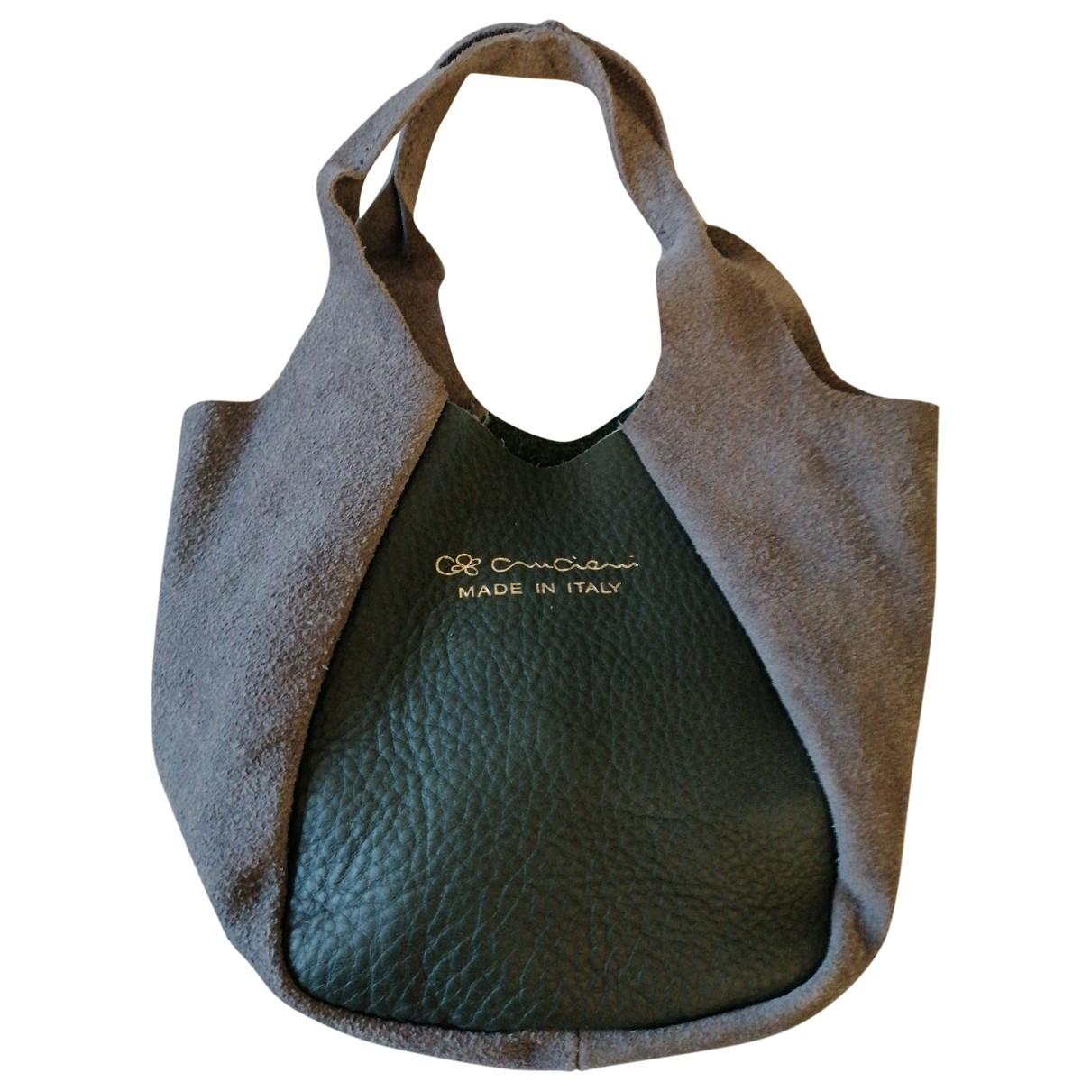 Cruciani \N Handtasche in  Bunt Leder