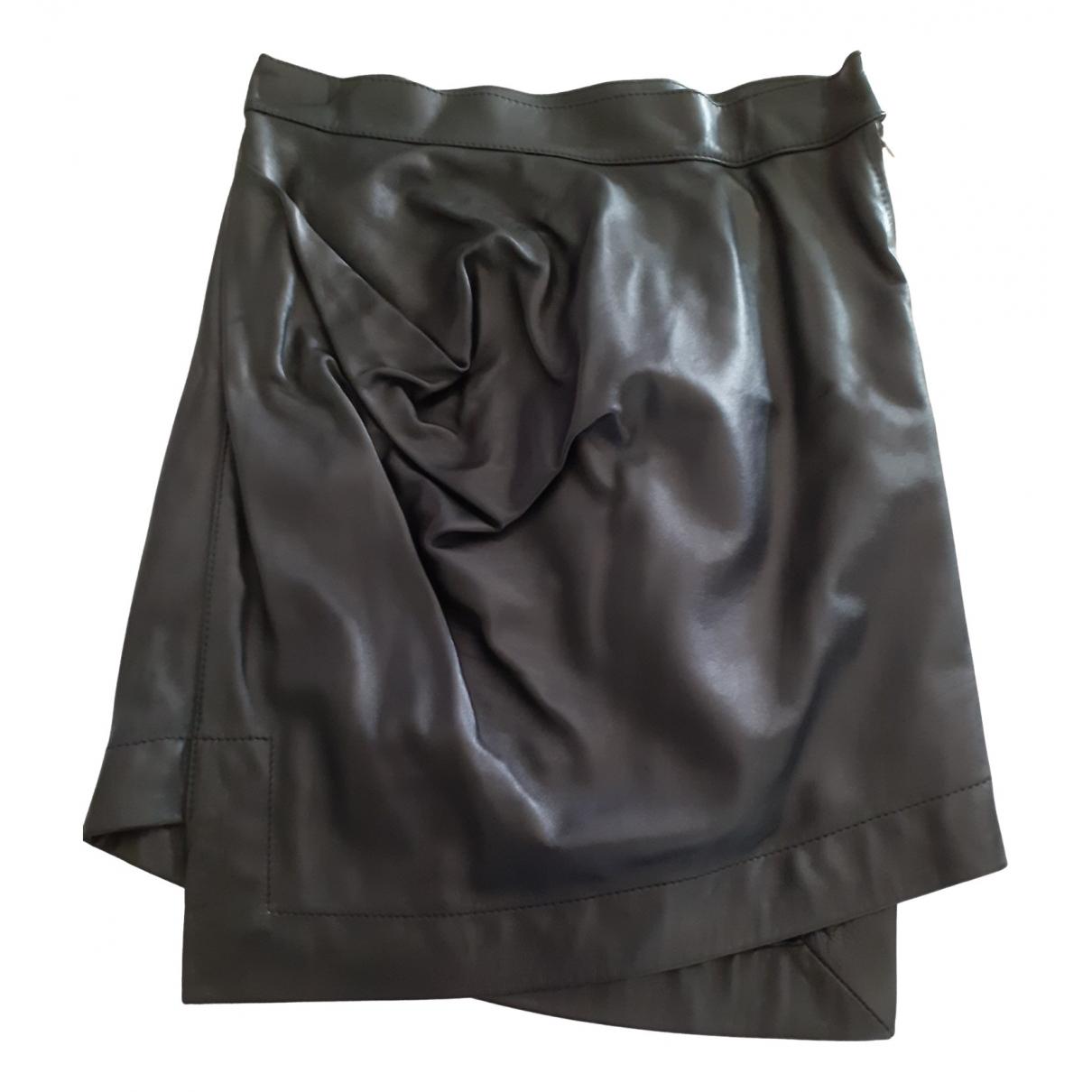 Vivienne Westwood Anglomania \N Rocke in  Schwarz Leder