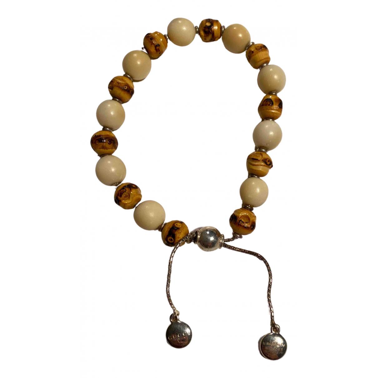 Gucci - Bracelet   pour femme en bois - beige