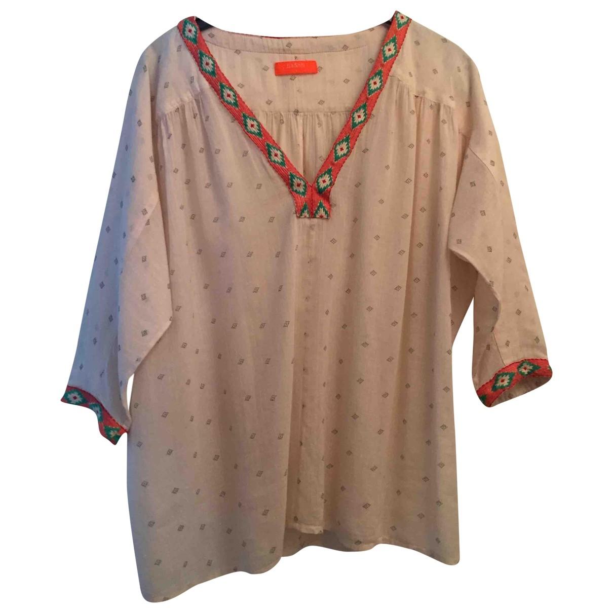 Ba&sh \N Ecru Cotton  top for Women 36 FR