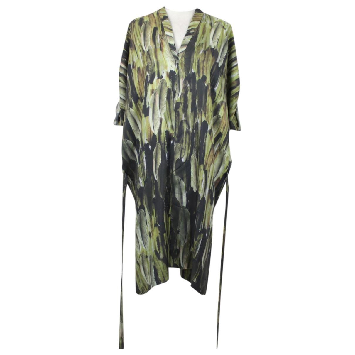 Isabel Marant \N Green Silk dress for Women S International