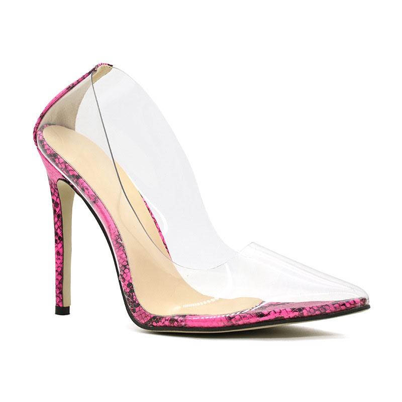 Ericdress Stiletto Heel Slip-On Pointed Toe Ultra-High Heel Pumps
