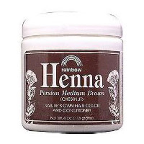 Henna PERSIAN MED BROWN, 4 OZ by Rainbow Research