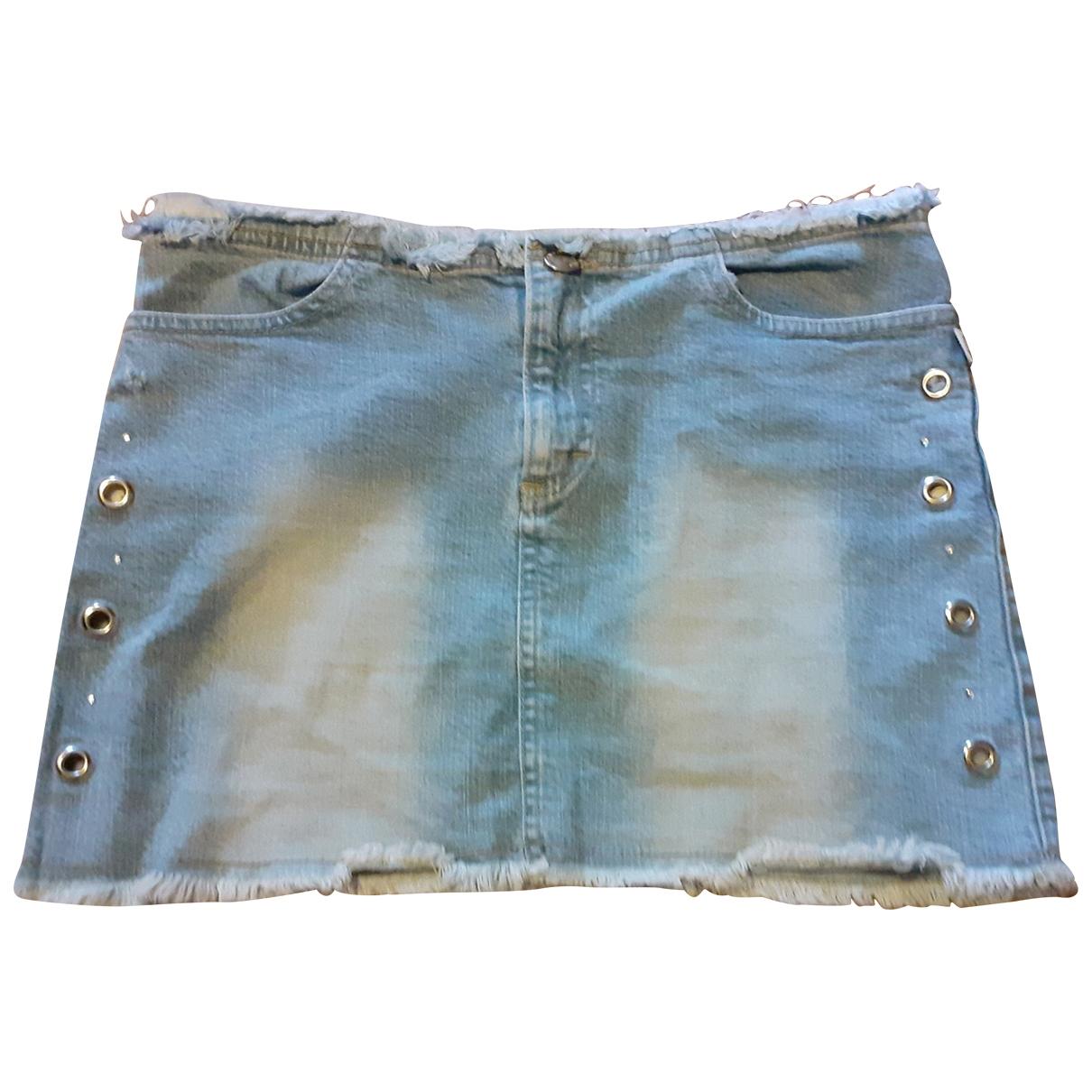 Moschino Love \N Rocke in  Blau Denim - Jeans