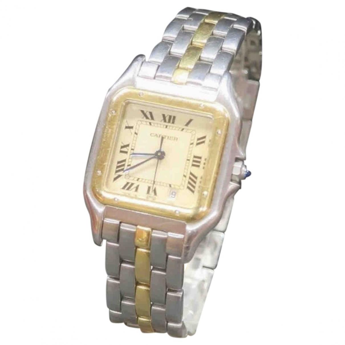 Reloj Panthere de Oro amarillo Cartier