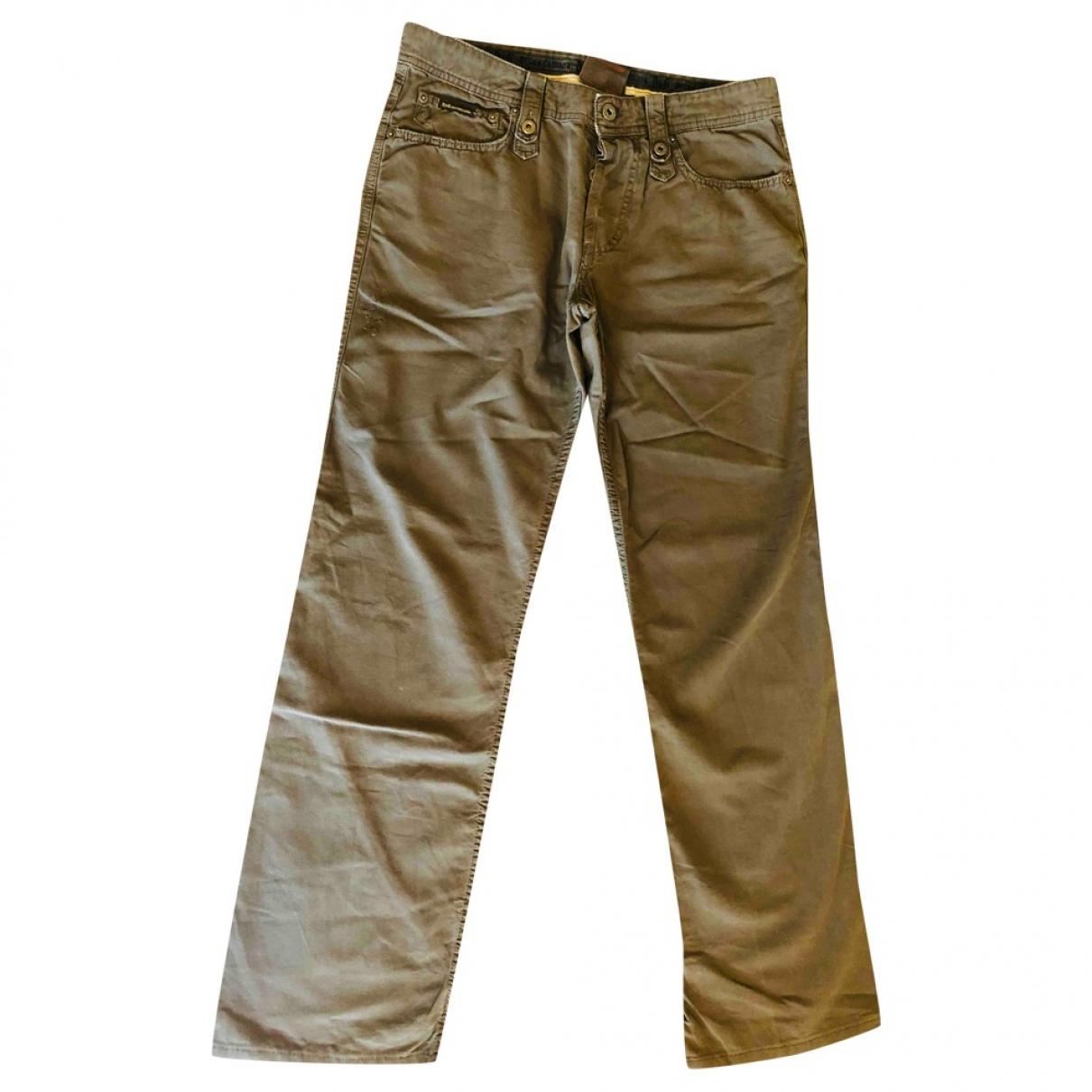 D&g - Jean   pour homme en coton - vert
