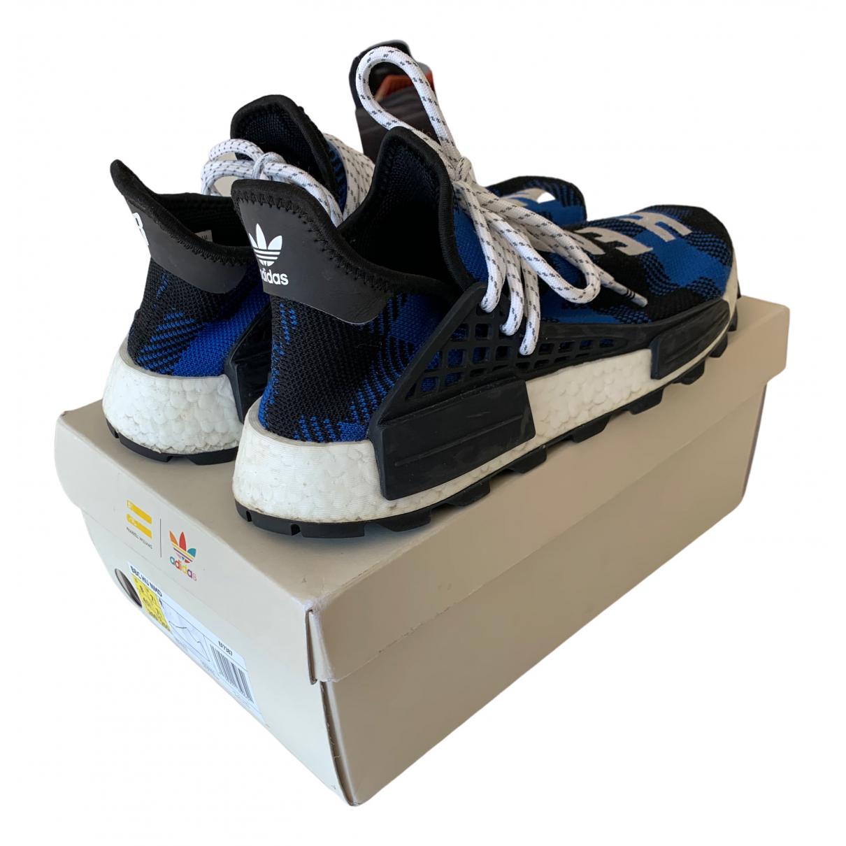 Adidas X Pharrell Williams - Baskets NMD Hu pour homme en autre - bleu