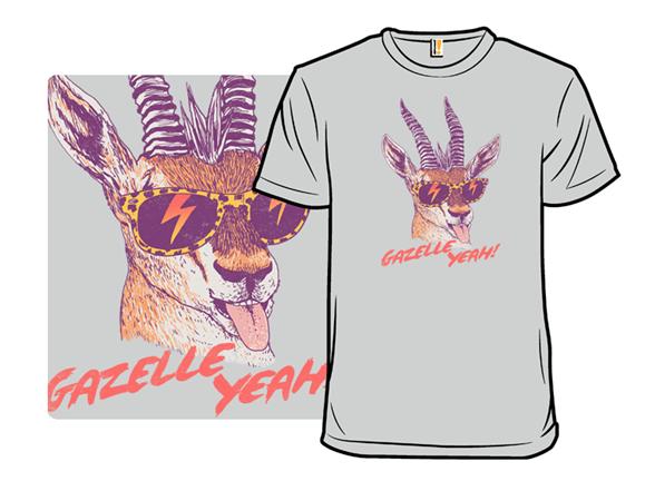 Gazelle Yeah! T Shirt