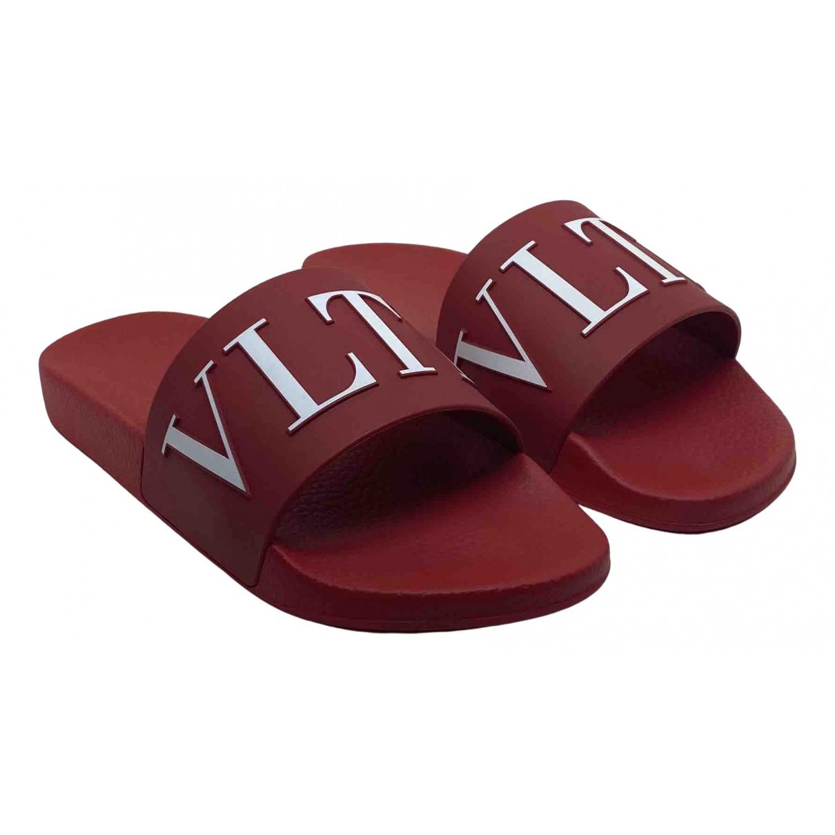 Valentino Garavani - Sandales   pour homme - rouge