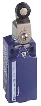 Telemecanique Sensors , Snap Action Limit Switch - Zamak® Zinc Alloy, NO/NC, Roller Lever, 240V, IP66, IP67