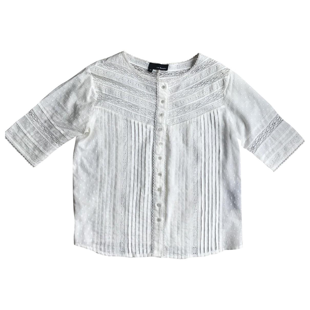 The Kooples \N Beige Cotton  top for Women XS International