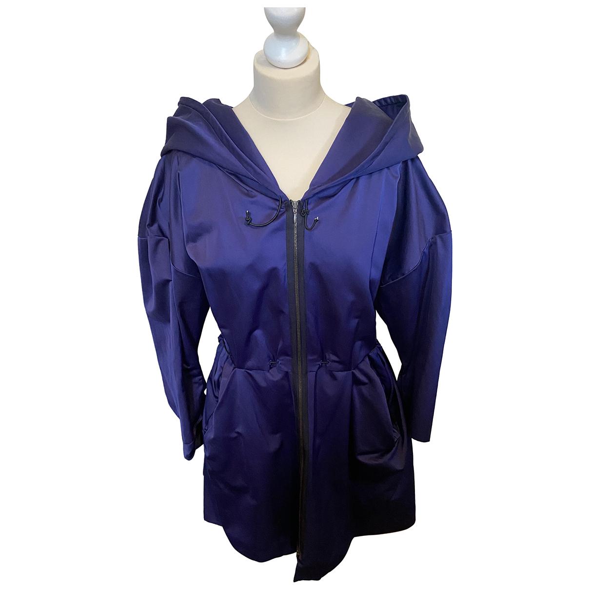Marni - Manteau   pour femme en coton - marine