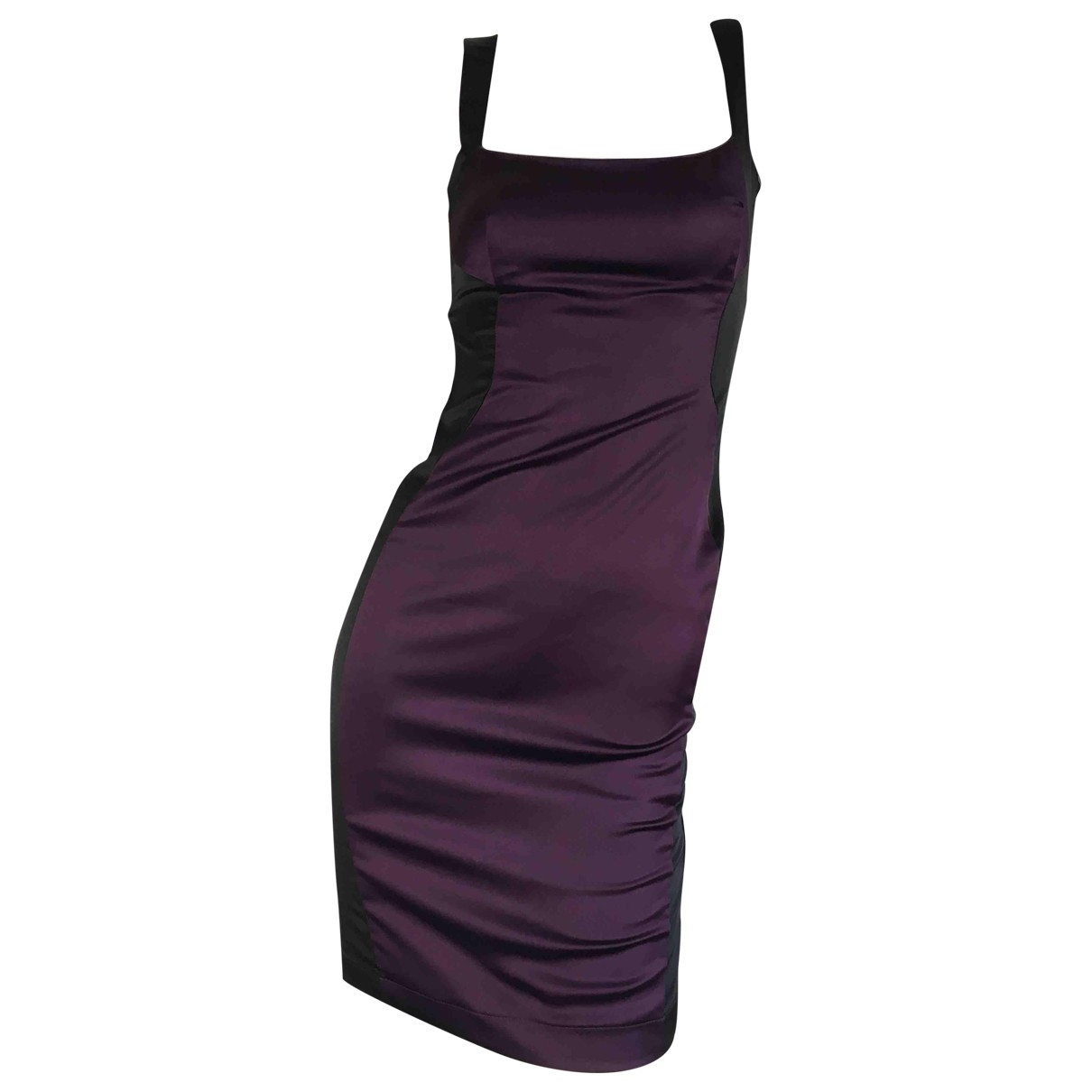 Just Cavalli \N Kleid in  Lila Polyester