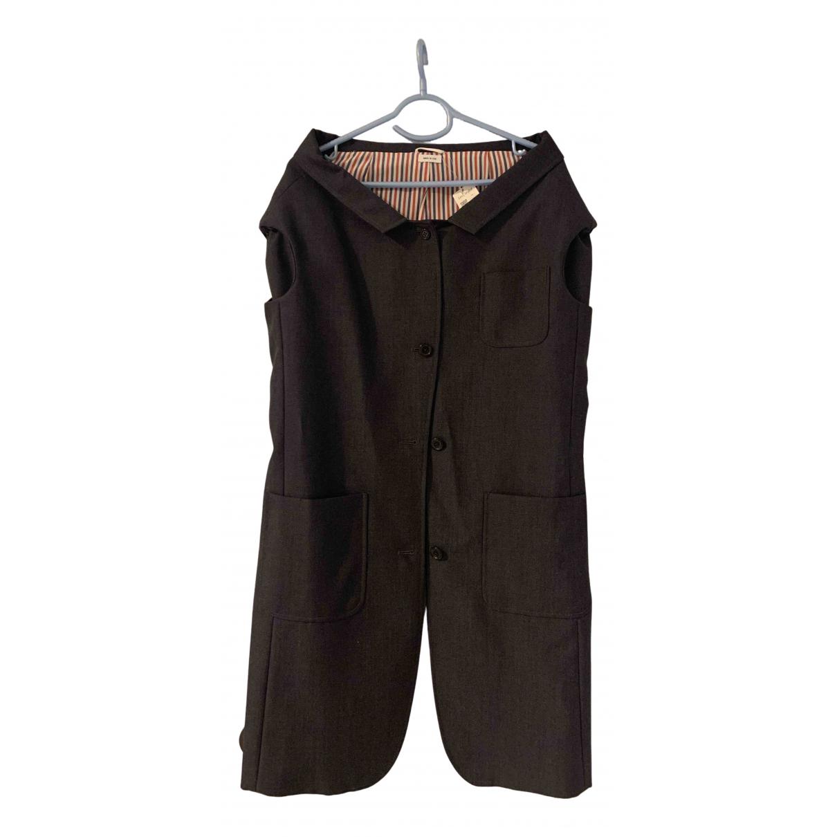 Thom Browne - Jupe   pour femme en laine - gris