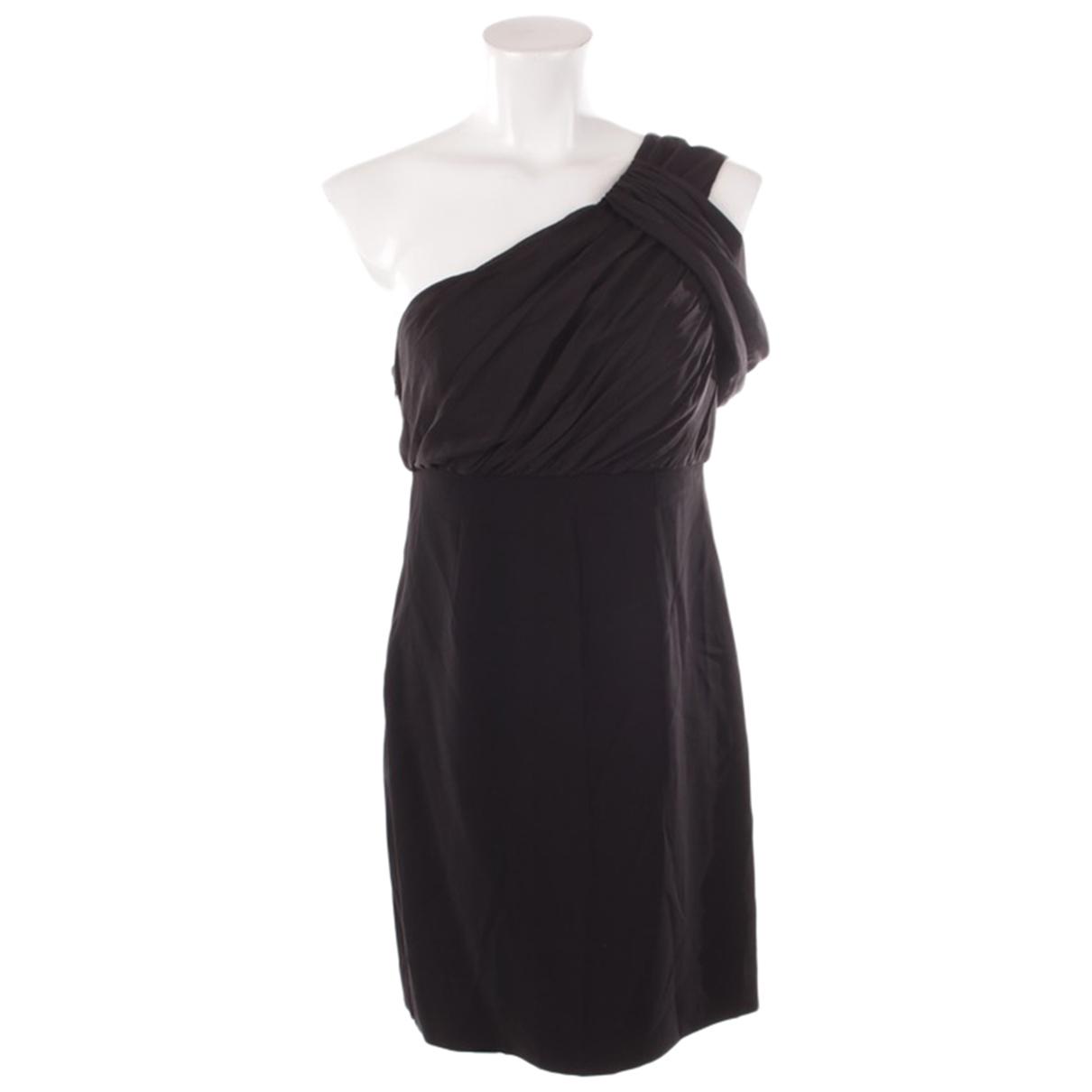 Rachel Zoe \N Kleid in  Schwarz Baumwolle