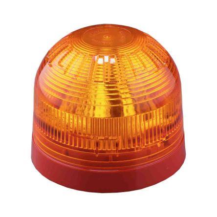 Klaxon Sounder Beacon 106dB, Amber LED, 17 → 60 V dc, IP21