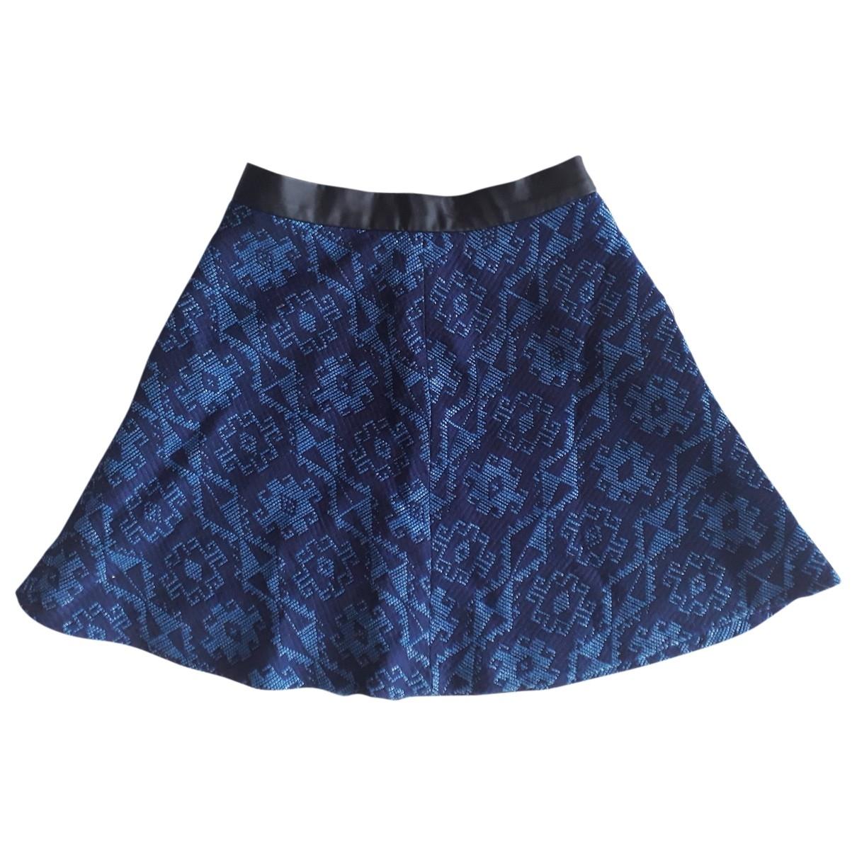 Zara \N Blue skirt for Women XS International