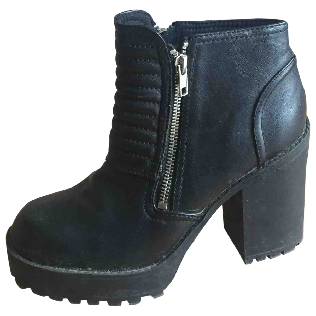 Non Signé / Unsigned \N Black Boots for Women 39 EU
