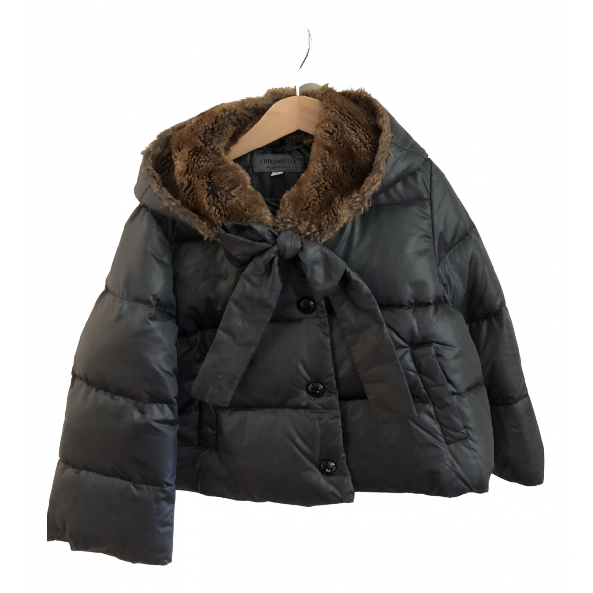Simonetta - Blousons.Manteaux   pour enfant - gris