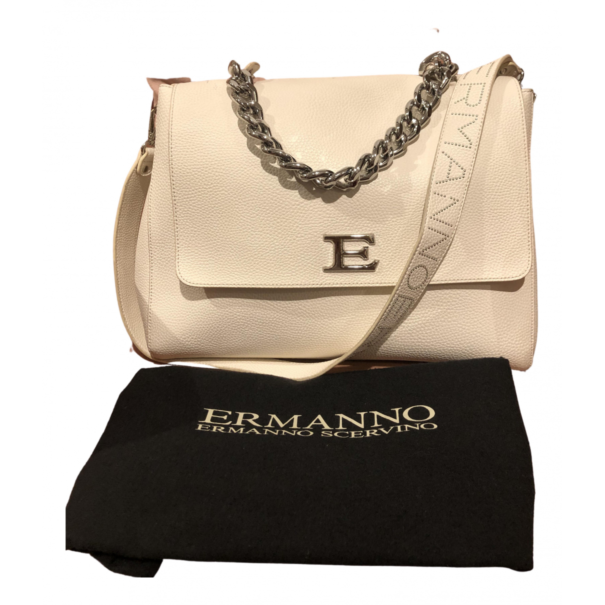 Ermanno Scervino \N White handbag for Women \N