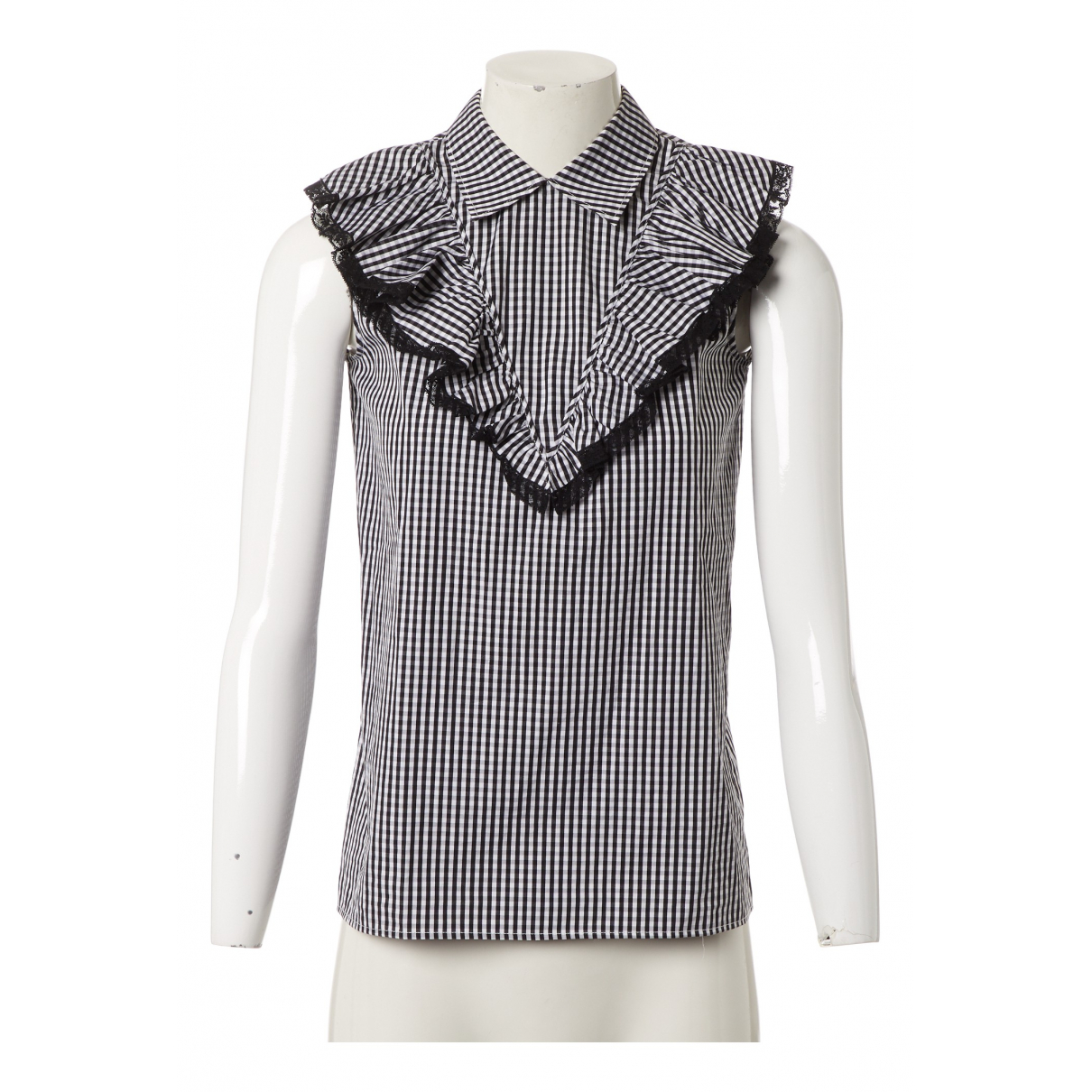 Miu Miu N Black Cotton  top for Women 36 IT