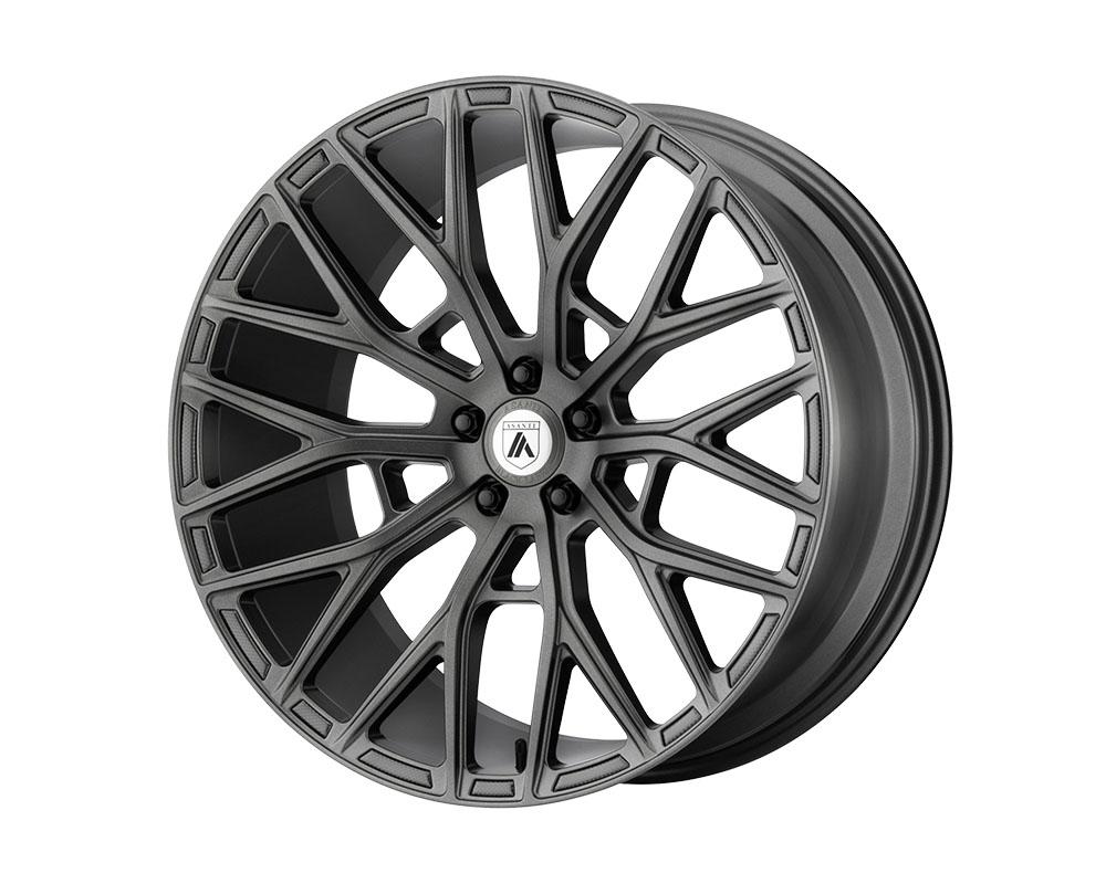 Asanti ABL21-22050035MG Black ABL-21 Leo Wheel 22x10.5 Blank +35mm Matte Graphite