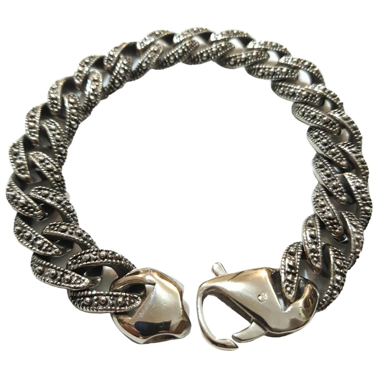 - Bijoux Chaines pour homme en acier - argente