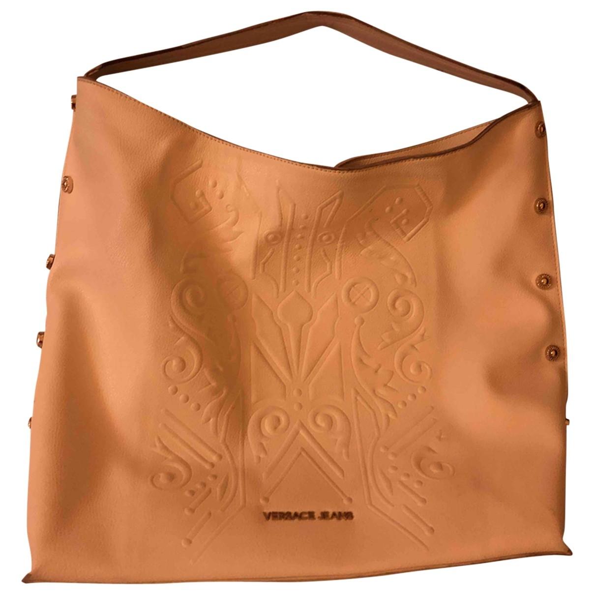Versace Jeans \N Handtasche in  Weiss Polyester