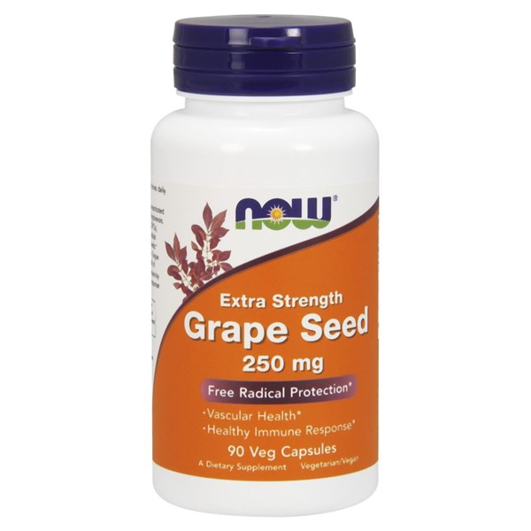 Grape Seed 90 Vcaps by Now Foods