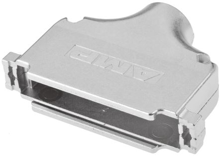 TE Connectivity , Amplimite Zinc D-sub Connector Backshell, 37 Way, Silver