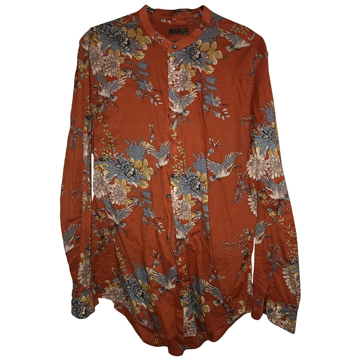Zara - Chemises   pour homme - orange