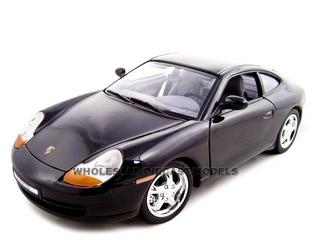 Porsche Carrera 911 Black 1/18 Diecast Model Car by Motormax