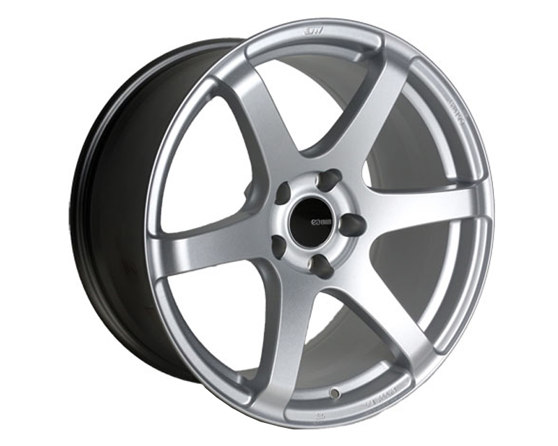 Enkei T6S Wheel Tuning Series Silver 18x8 5x114.3 35mm
