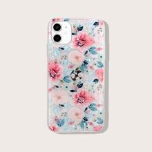 iPhone Huelle mit Blumen Muster