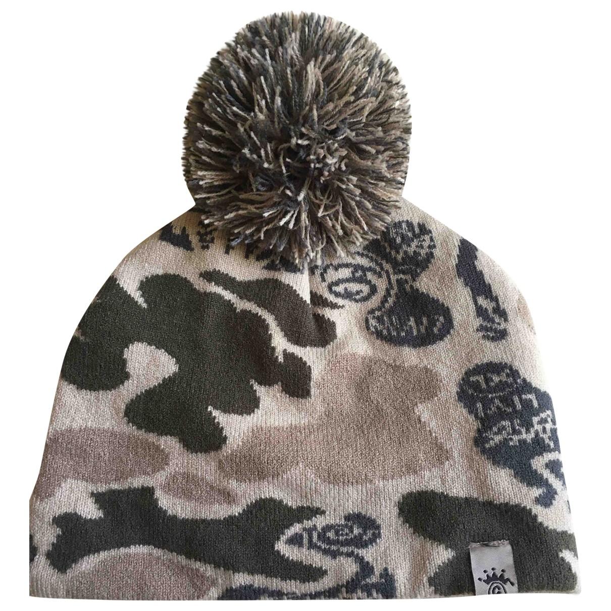 Stussy - Chapeau & Bonnets   pour homme en coton - gris
