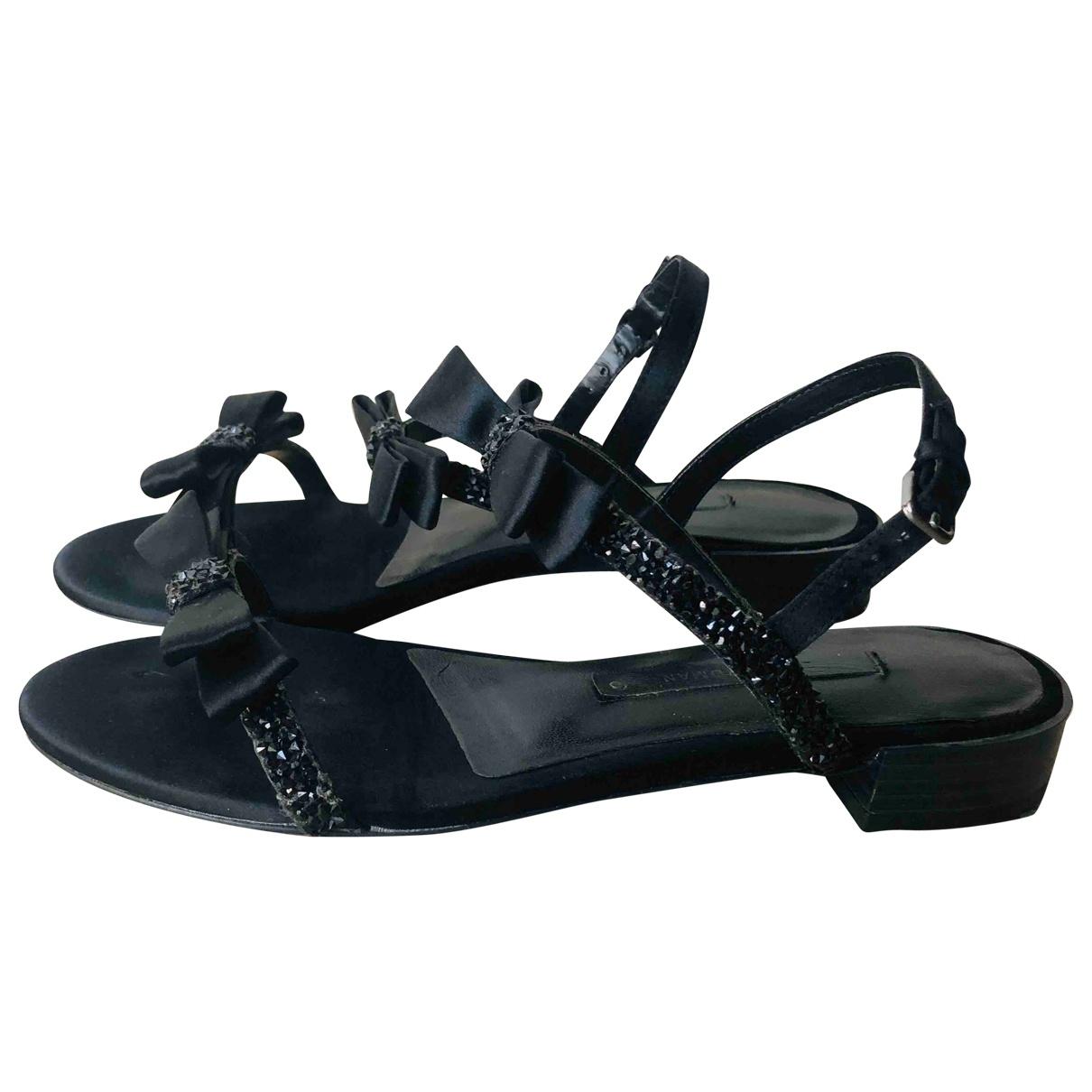 Sandalias romanas de Con lentejuelas Zara