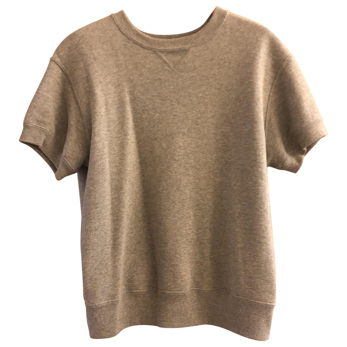 Sacai \N Grey Cotton  top for Women 2 0-5