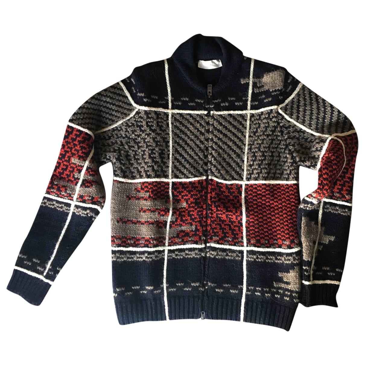 Mauro Grifoni \N Pullover.Westen.Sweatshirts  in  Blau Wolle