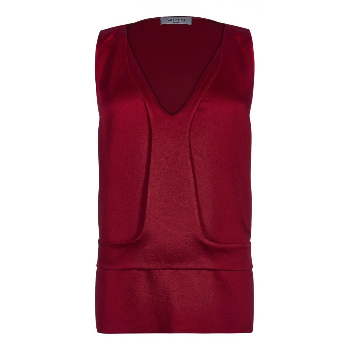 Valentino Garavani N Red  top for Women 16 UK