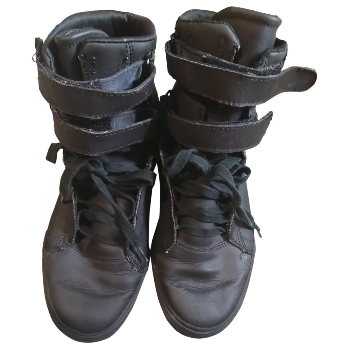 Supra \N Sneakers Schwarz