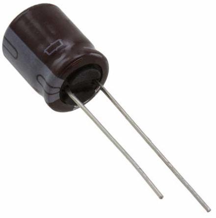 Nippon Chemi-Con 10μF Electrolytic Capacitor 100V dc, Through Hole - EKMQ101ELL100ME11D (200)
