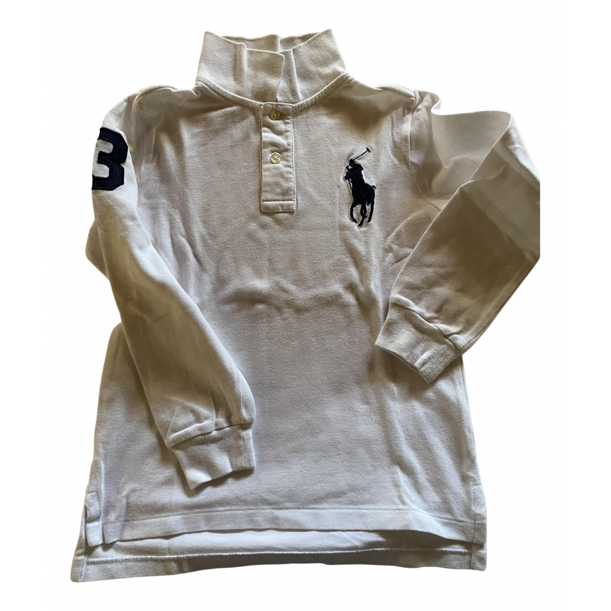 Polo Ralph Lauren N White Cotton  top for Kids 6 years - up to 114cm FR