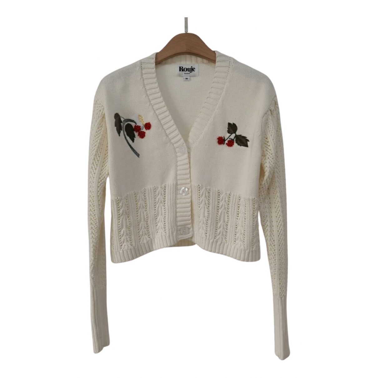 Rouje Spring Summer 2020 Pullover in  Ecru Wolle