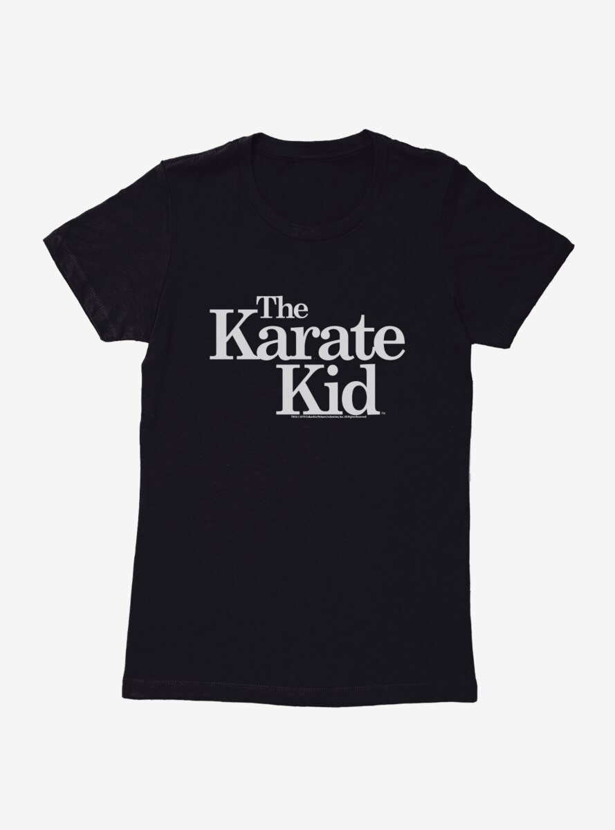 The Karate Kid Text Womens T-Shirt